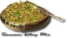 SOUTHERN DIRTY RICE- http://www.thegutsygourmet.net/soul-dirty-rice.html