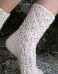 Cabled Socks Pattern:  Alpaca Sox from Classic Elite Yarns