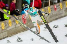 Skispringer Domen Prevc beim FIS Skispringen Welt Cup in Engelberg / Schweiz | Fotojournalist Kassel http://blog.ks-fotografie.net/pressefotografie/fis-skispringen-engelberg-schweiz-fotografiert/