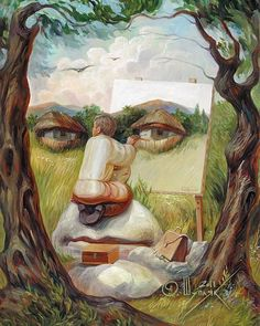 Impressive Optical Illusions Drawing Famous People Of The Past An Artist Uses and make an Impressive Optical Illusions To Draw Famous People Of Th Illusion Paintings, Illusion Drawings, Illusion Art, Illusion Pictures, Fantastic Art, Awesome, Surreal Art, Optical Illusions, Art World