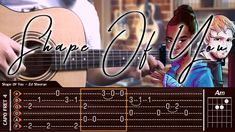 Ed Sheeran - Shape Of You - Cover (Fingerstyle Cover) + TAB Tutorial & C...