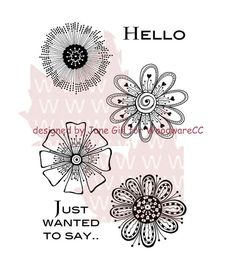 You will be impressed with the style and quality of Woodware Craft Collection Clear stamps Set of 6. Easy to use and available in various theme-inspired designs, these clear stamps are specially desig