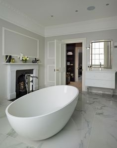 Our freestanding Coniston bath was used in one of our contract team's case studies, Myddleton Square.