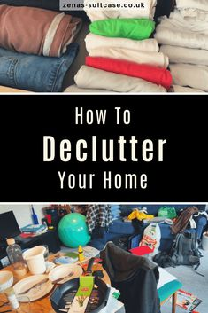 How To Declutter Your Home - Find out why you have a messy house and the strategies you can use to tidy it up inspired by Marie Kondo for better housekeeping Home Remodeling Diy, Basement Remodeling, Home Renovation, Declutter Your Home, Organizing Your Home, Messy House, Good Housekeeping, Organization Hacks, Clean House