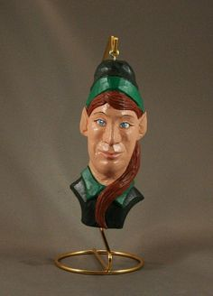 Woodcarvers of Etsy Countdown to Christmas 4 weeks left by M.A.Dellinger Wood Carving on Etsy