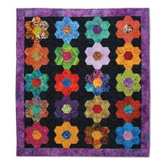 Sizzix.com - Our Flowers are in Perfect Rows Quilt