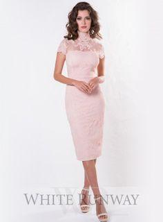 Blush Harmony Lace Dress