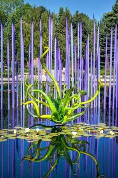 Chihuly - saw this in person in Dallas - it was AMAZING!!!