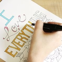 Free printables that you can color in however you desire!