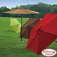 Wilson & Fisher® 9' Steel Market Umbrella
