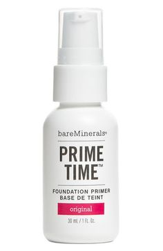 bareMinerals® bareVitamins 'Prime Time' Foundation Primer Put on before my bareMinerals foundation!! Makes my face flawless!!
