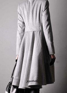 Cashmere long coat