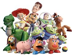 Toy Story gang
