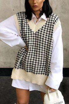 Winter Fashion Outfits, Look Fashion, Fall Outfits, Autumn Fashion, Vintage Winter Fashion, Travel Outfits, Vest Outfits, Mode Outfits, Cute Casual Outfits