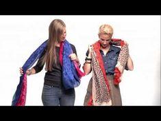 Maria Vitrine - Blog de Compras, Moda e Promoções em Curitiba.: Aprenda como usar e amarrar o cachecol, lenços e echarpes
