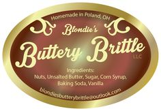 blondies buttery brittle label sticker-full color-02