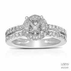 DL4145 #FischerJewelryDesign #engagement