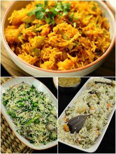 veg pulav recipes