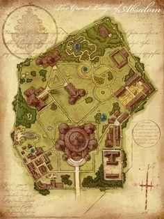 University -- fantasy cartography by Jared Blando Pretty good map of the Norquay University campus