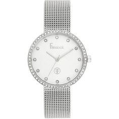 Ceasuri Dama :: CEAS FREELOOK F.1.1019.03 - Freelook Watches Watches, Swarovski, Mesh, Silver, Accessories, Wristwatches, Clocks, Fishnet, Money