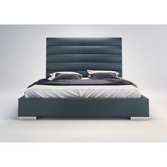 Modloft Prince Upholstered Platform Bed My new bed!!