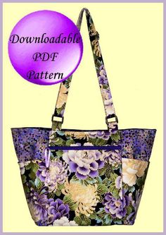 """""""Louise's Bag"""" - PDF Sewing Pattern + How to Sew Over Bulky Seams"""