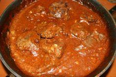 Fenséges Szapári-máj – nagyon izgalmas, érdemes is kipróbálni! I Foods, Chicken Recipes, Curry, Food And Drink, Cooking, Ethnic Recipes, Liver Recipes, Ground Chicken Recipes, Cucina