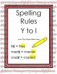 Spelling Rules, Spelling Lists, Spelling Activities, Spelling And Grammar, Grade Spelling, Listening Activities, English Spelling, English Phonics, English Grammar Worksheets