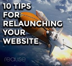 Tips for relaunching your website.  http://www.realise.com/blog-old/2016/6/15/10-tips-for-getting-the-most-out-of-your-site-relaunch