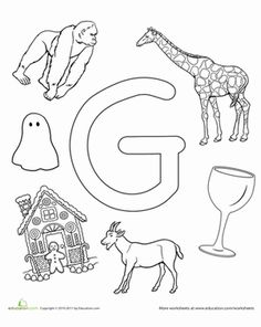 ... the letter G on Pinterest | Letter g, Abc activities and The alphabet