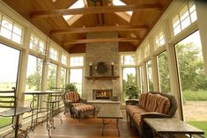 Four Seasons Room Designs Ideas | traditional porch by Ascent Custom Homes