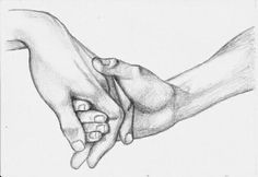 Hand holding sketches holding hands drawing, tattoos of hands holding Pencil Art Drawings, Love Drawings, Art Drawings Sketches, Hand Drawings, Sketches Of Love, Art Illustrations, Love Sketch, Figure Drawing, Painting & Drawing