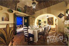 Indoor hall dinner