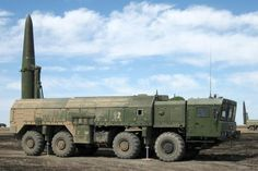 Russian Iskander tactical ballistic missiles at Western military district