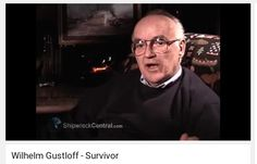 Interview with a survivor from the sinking of the Wilhelm Gustloff. Unfortunately his name isn't given. If you are able to identify him, please let me know so I can add his name here.