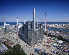 Waste to Energy project on Amager, Denmark.
