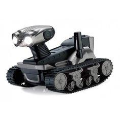 Observa y escuchatodo lo que ocurre a tu alrededor.Con este tanque espía de forma robótica podrás grabar desde tu smartphone o tablet sin preocuparte de obstáculos.¡No te pierdas ni un solo detalle!