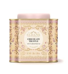 Chocolate Truffle- a delightfully sweet black tea with hints of dark chocolate