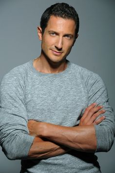 """Sasha Roiz - I watched """"Grimm"""" one day and developed an instant crush on him!  Whew!"""