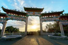 Ma Cho Temple, in San Fernando, La Union, Philippines Beautiful Places To Visit, Cool Places To Visit, La Union Philippines, Gazebo, Pergola, Tourist Spots, Travel Goals, Manila, Where To Go