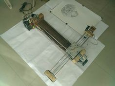 Crazy Engineer's Drawing Robot Arduino GRBL CoreXY Drawbot