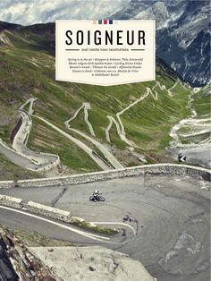 Cover Soigneur 03; Soigneur is a dutch magazine, for the love of cycling.