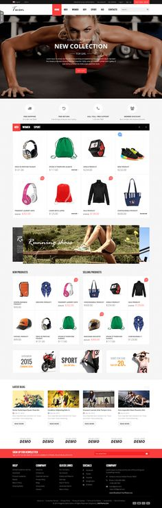 SNS Twen Latest Clean Design Responsive #Magento Theme #webdesign #shop #eCommerce