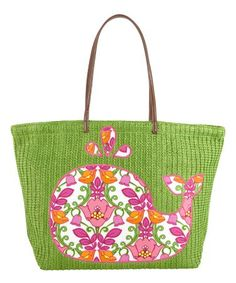 Vera Bradley - Seashore Tote in Lilli Bell Vera Bradley Handbags, Vera Bradley Tote, Bradley Beach, Vera Bradley Patterns, Summer Tote Bags, Girly Things, Pink And Green, Purses And Bags, Little Girls