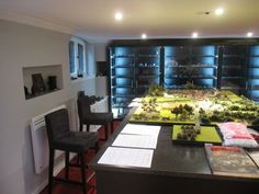 Wargaming Room | Game Rooms, Hobby Room and Display Cabinets