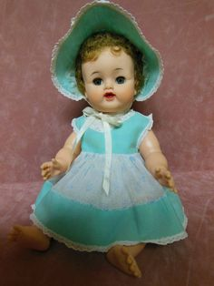 VINTAGE 1960 IDEAL BETSY WETSY DOLL ORIGINAL CLOTHING 15""
