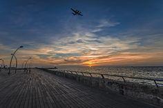 a kodak moment at the Tel Aviv port Photograph by Ron Shoshani
