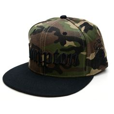 New 2015 Fashion Men Cap Camouflage Compton Letters Embroidery Snapback  Baseball Cap Hip Hop Caps For f97d5e6421d