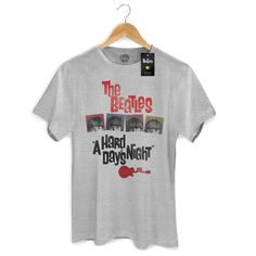 Camiseta Masculina The Beatles A Hard Day's Night #TheBeatles #AHardDaysNight