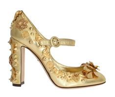 Just released Gold Leather Flor.... http://gethuda.co/products/gold-leather-floral-studded-pumps-2?utm_campaign=social_autopilot&utm_source=pin&utm_medium=pin